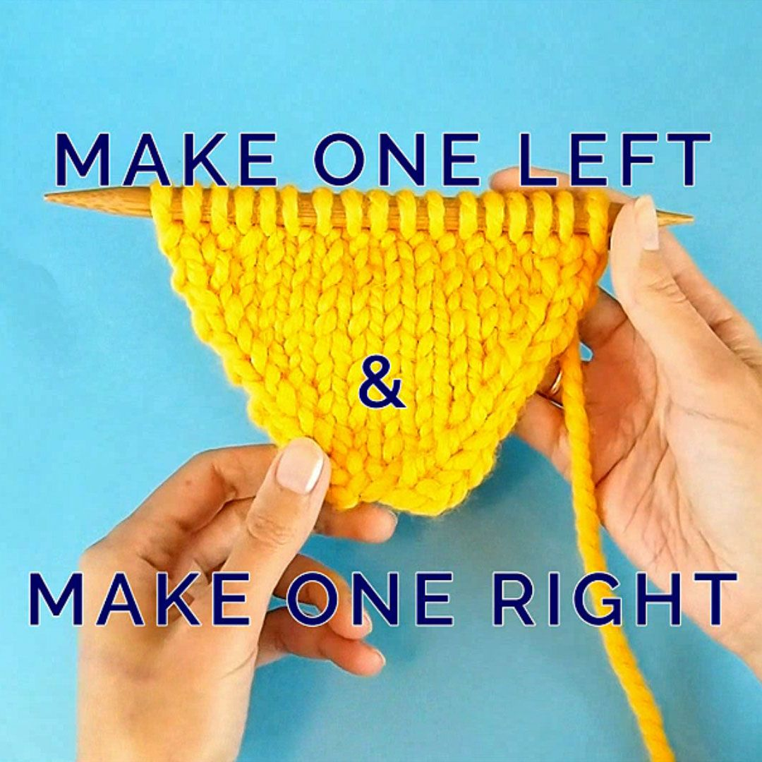 Make 1 Left and Make 1 Right