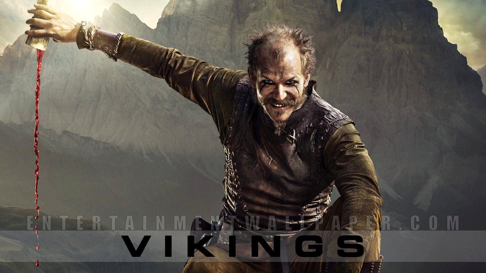 Flokie (Gustaf Skarsgård) Vikings Pinterest Vikings