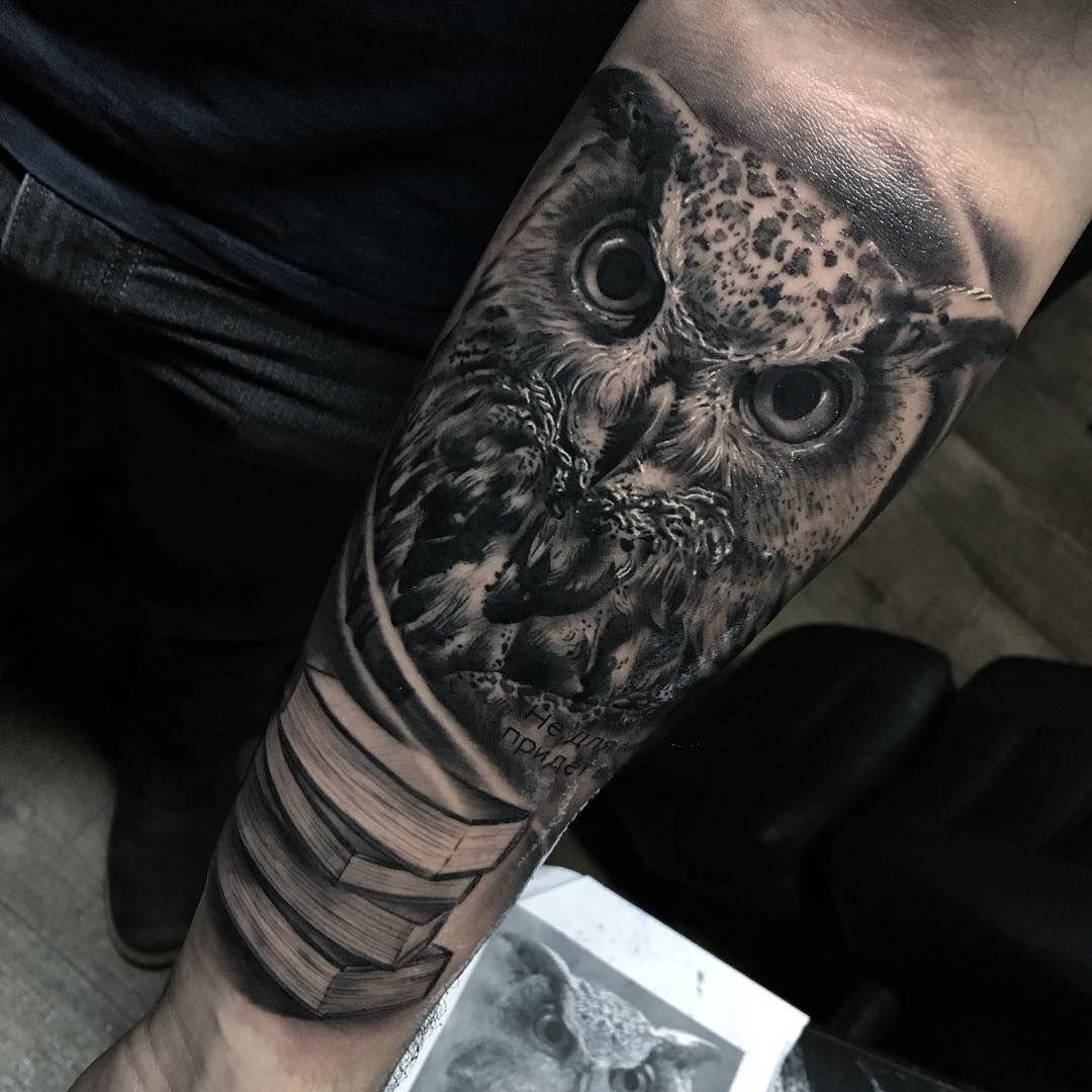 создан для тату на запястье мужские эскизы совы фото можно