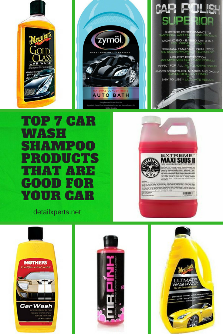 Best Car Cleaning Products >> Top 7 Car Wash Shampoo Products That Are Good For Your Car