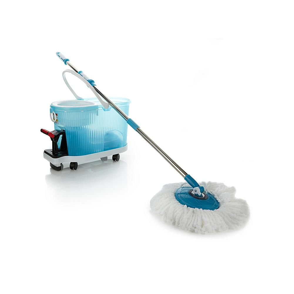 As Seen On Tv Deluxe Hurricane Spin Mop With Dolly And Soft Grip Handle Spin Mop Microfiber Mops Mops