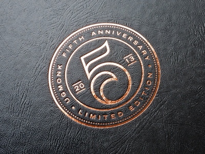 Th anniversary logo on behance u pinteresu