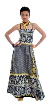 KORLEBU MAXI DRESS from Stella Ann | Blue Caravan Ethical Design Market