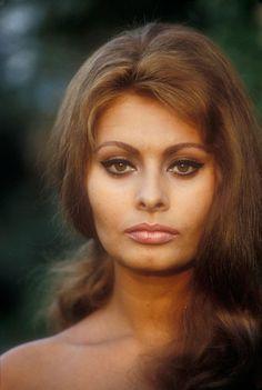 the prettiest hair color sophia loren - Sophia Loren Hair Color