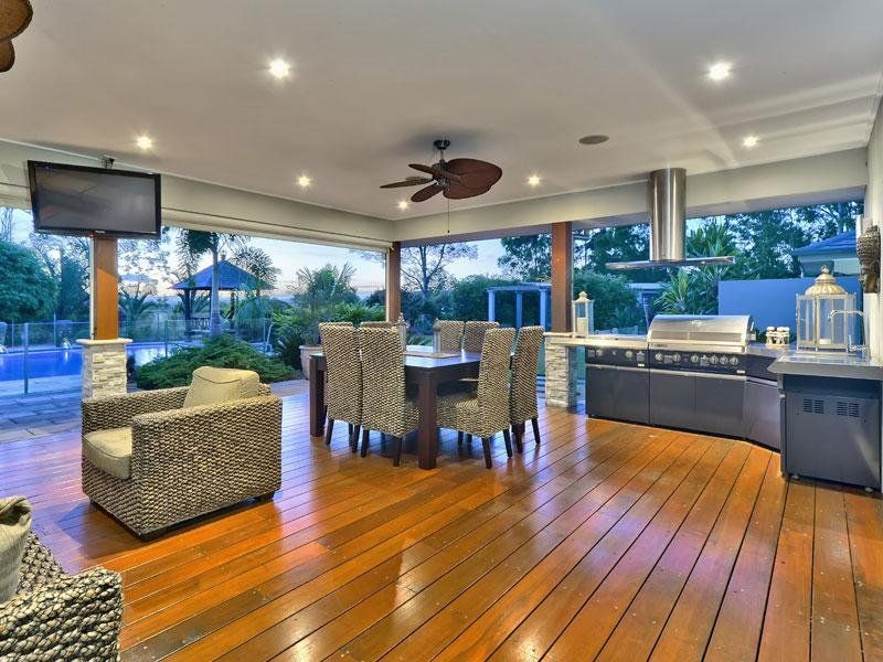 Fully Equipped Outdoor Entertaining Area Overlooking The