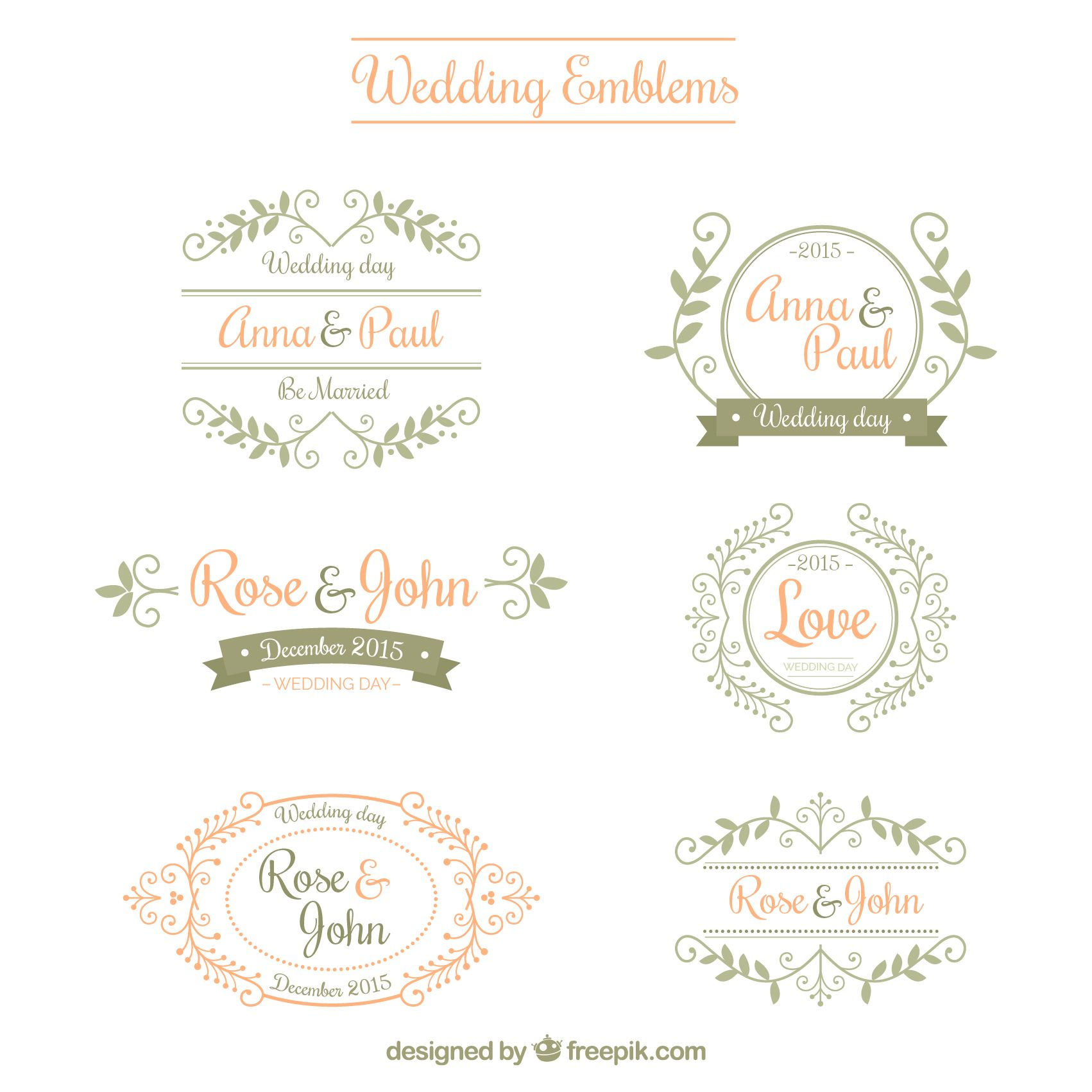 Variety Of Cute Shop Logos