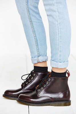 346eb9d2deb Details about Dr. Martens Emmeline Boots. Cherry Red Arcadia in 2019 ...