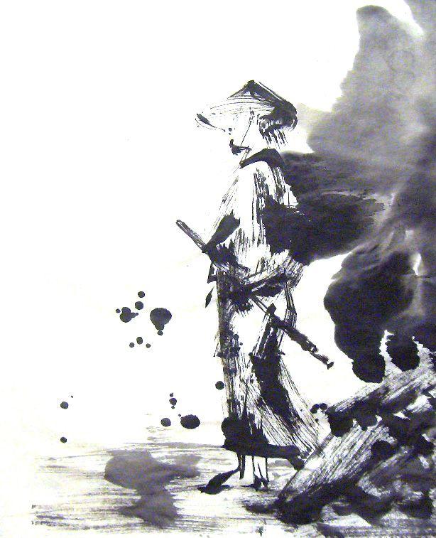 Samurai Miyamoto Pinterest Japon Ninjas Y Arte Japones