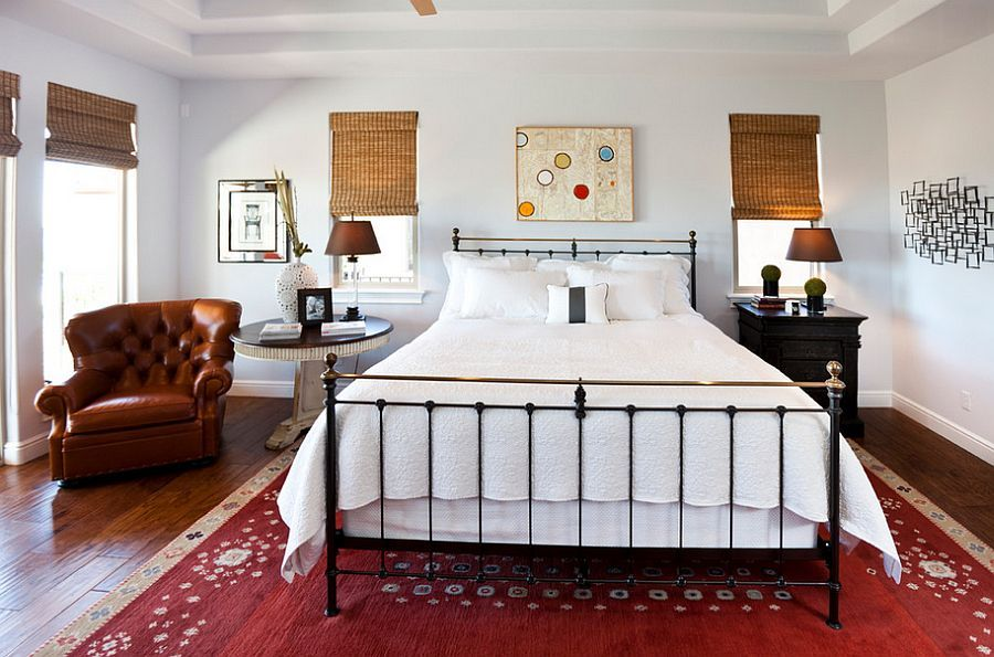 30 Bedrooms That Wow With Mismatched Nightstands Проекты
