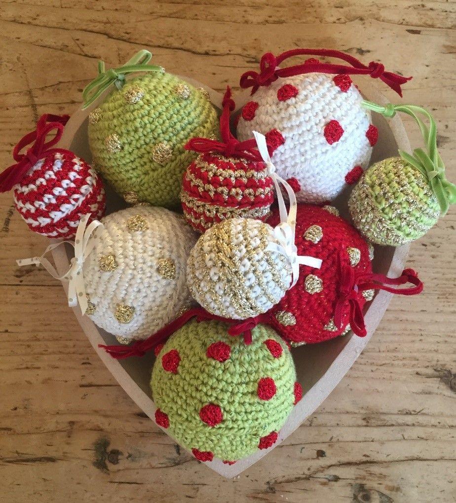 Crochet Club: Boules de Noël Mix & Match | Crochet xmas, Christmas