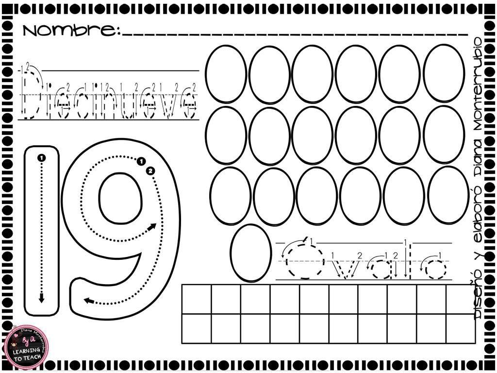Cudernillo Trabajamos Los Numeros Trazo Y Figuras 19