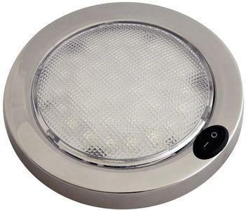 Beau Stainless Steel, Columbo Led Interior Dome Lights 40 166017