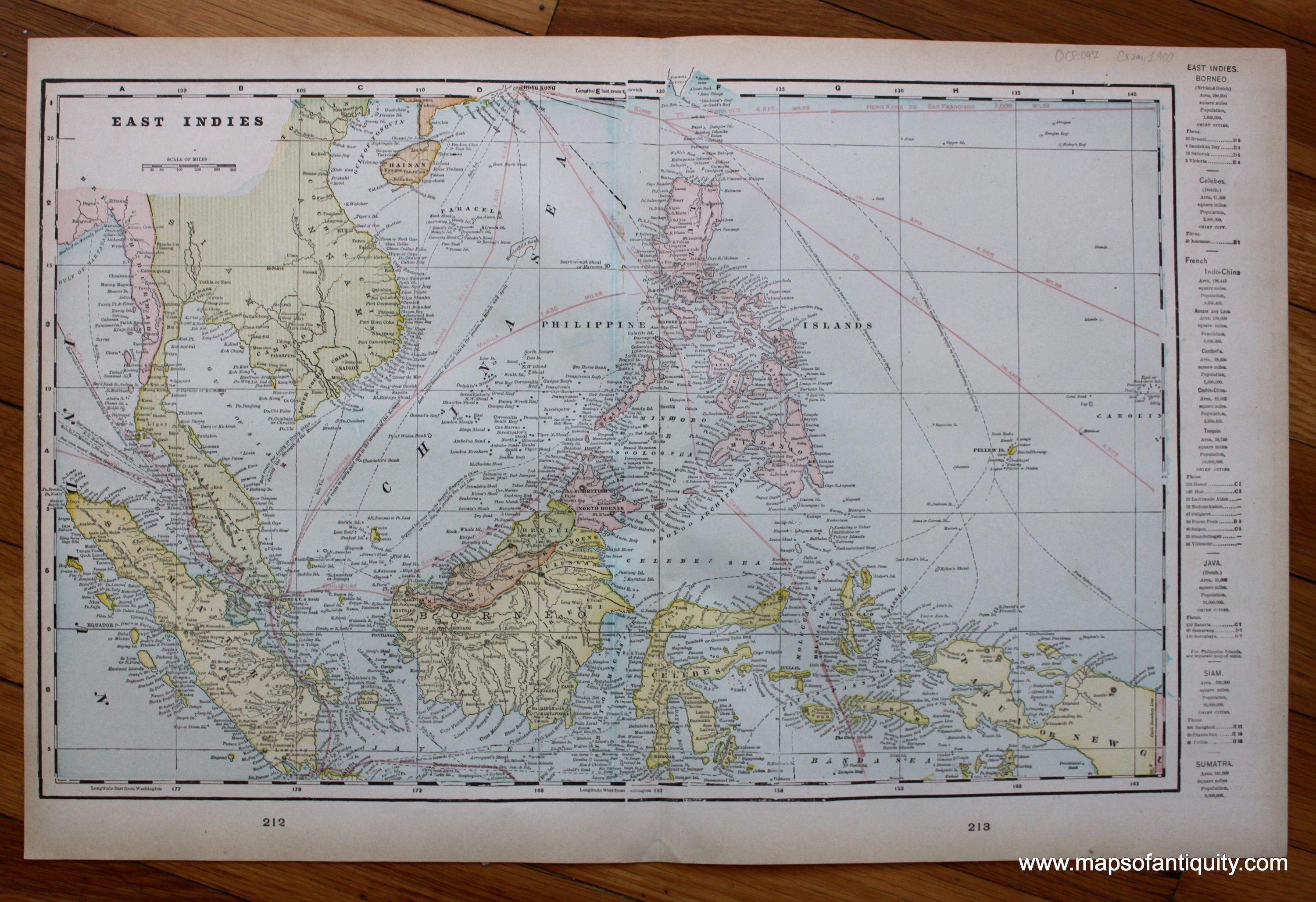 East Indies  verso  Oceanica  and Australia   Tasmania   Antique     East Indies  verso  Oceanica  and Australia   Tasmania   Antique Maps and  Charts