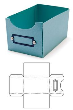 Blitsy Template Dies Library Box