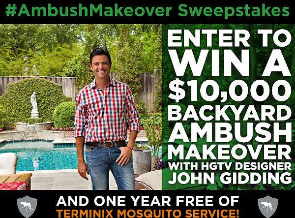 $10,000 Backyard Makeover Sweepstakes | Backyard makeover ...