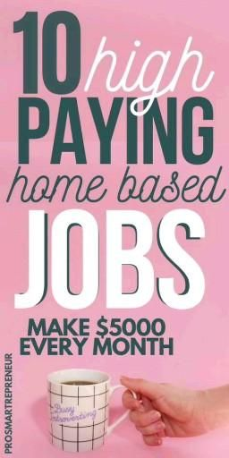 Top 10 Highest paying jobs To make Money online Fr...