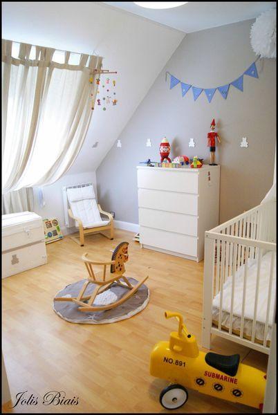 id e d co chambre rideaux aux velux pinterest chambre enfant chambre b b et chambre. Black Bedroom Furniture Sets. Home Design Ideas