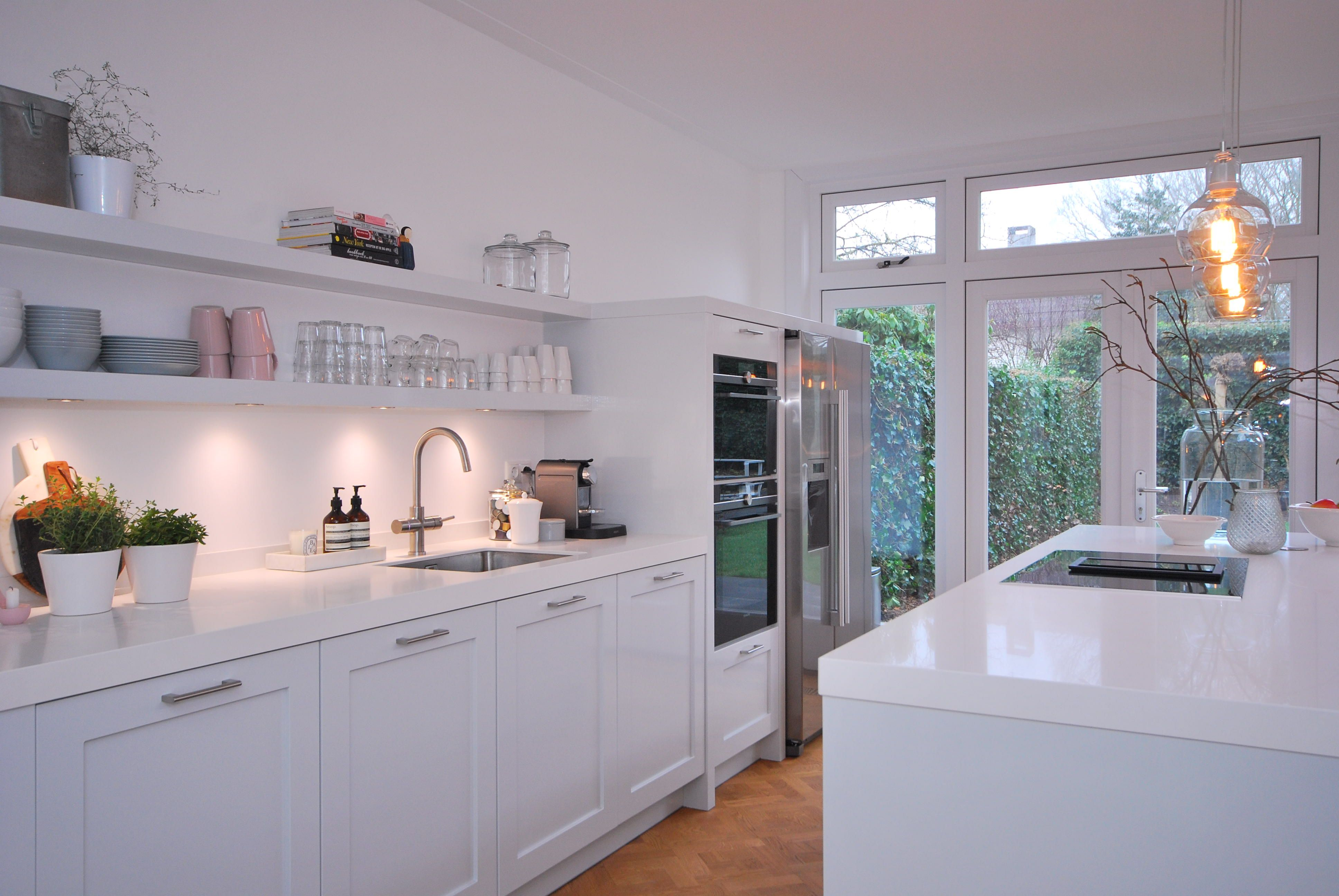 Home Design Keukens : Oplevering handgeschilderde woonkeuken soest in #soest hebben wij