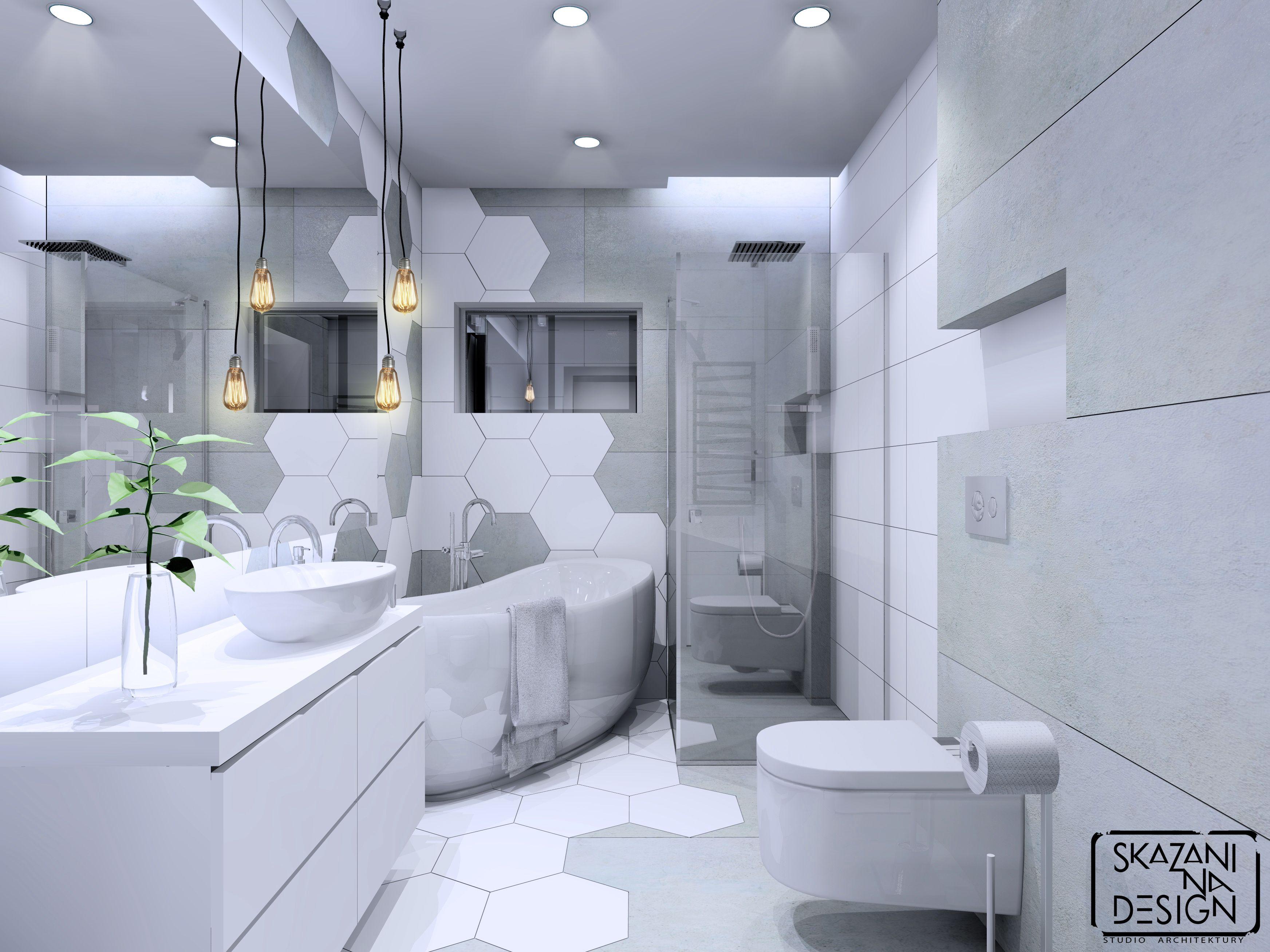 Pin Na łazienki Projekty Skazani Na Design