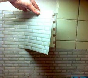 J'ai testé le carrelage mural adhésif  -Smart Tiles- #amenagementmaison