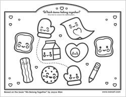 Joyce Wan coloring pages