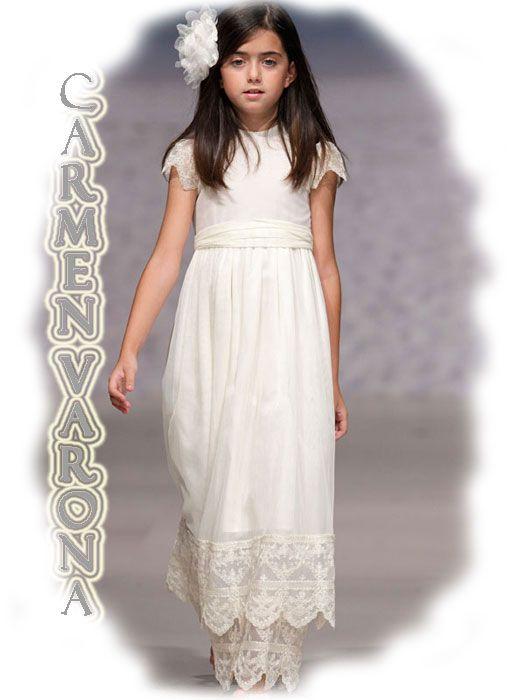 1001ee122 Vestidos de Comunión especiales de Carmen Taberner