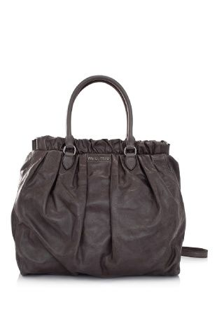 c273ea99225a Miu Miu Vitello Shine Shopping Bag