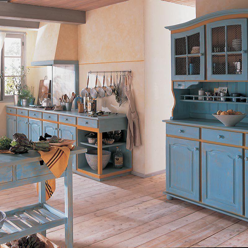 Réaliser une cuisine provençale | Cuisine provencale, Meuble ...