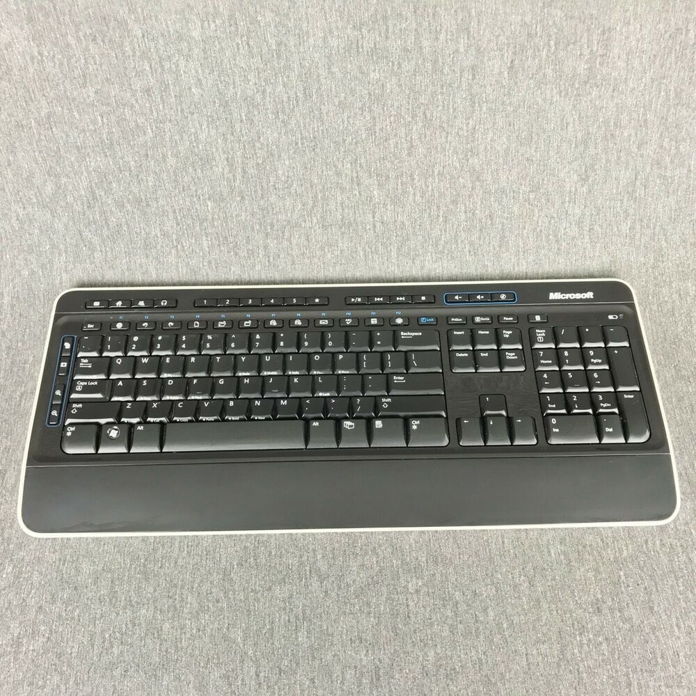 5e689947594 Microsoft Wireless Keyboard 3000 v2.0 Model: 1379 No Receiver #afflink