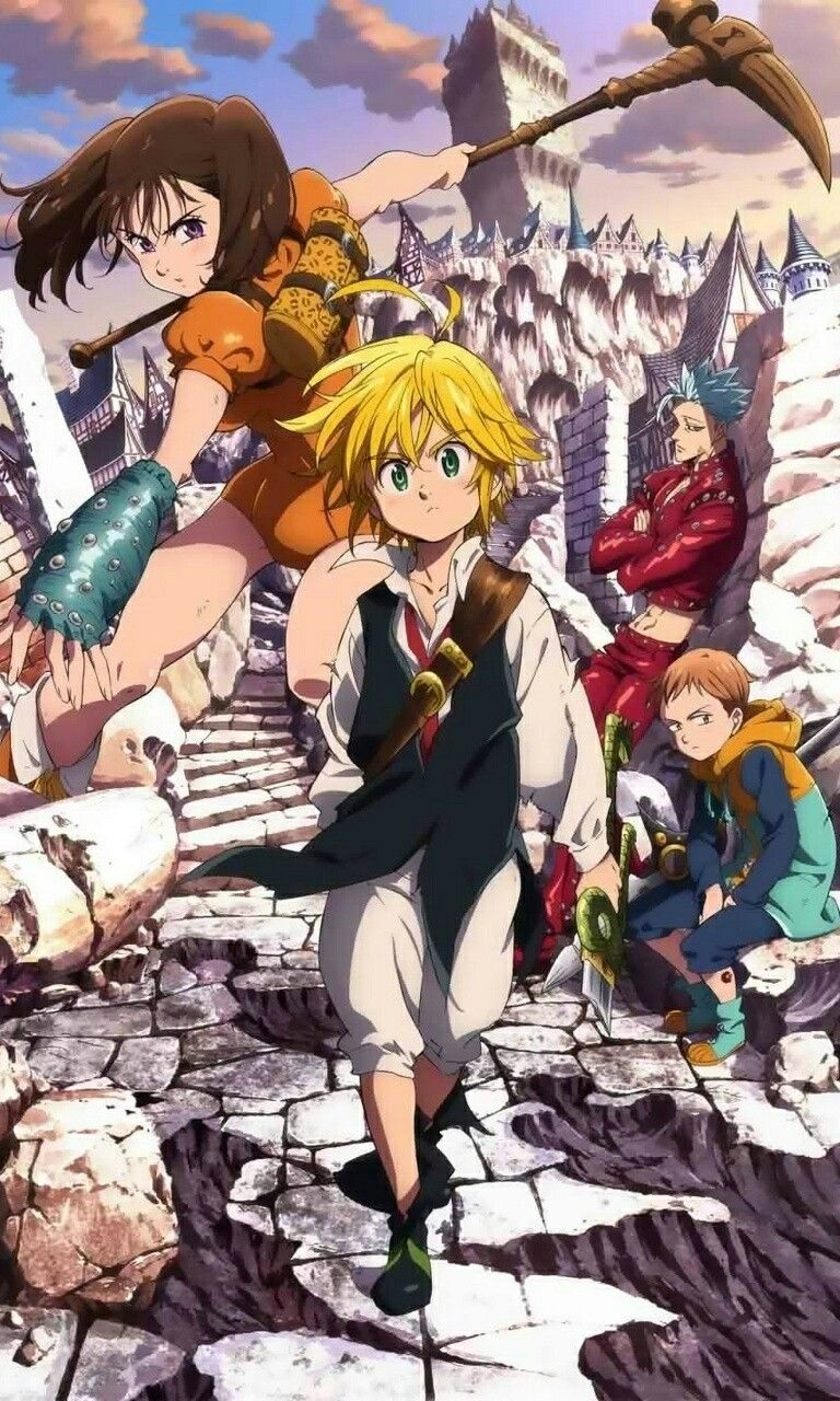 Seven deadly sins wallpaper