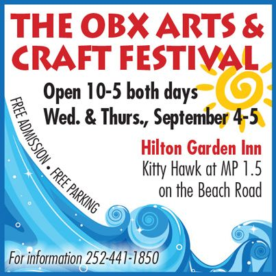 OBX Arts and Craft Festival Supports Outer Banks Charities