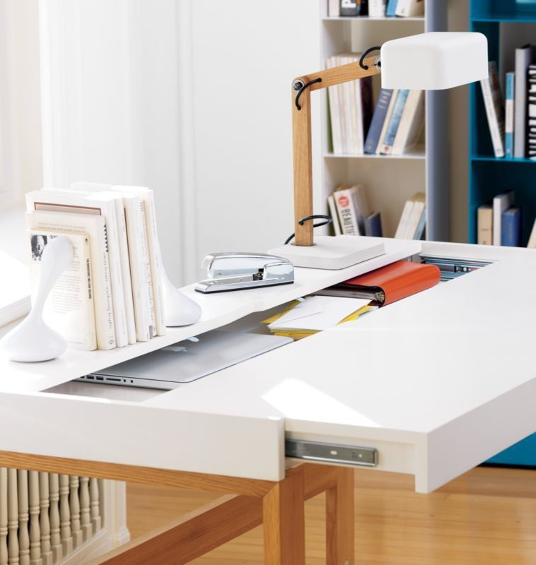 cool home office designs practical cool. This Sliding Desktop Table By Manuel Saez, The \ Cool Home Office Designs Practical