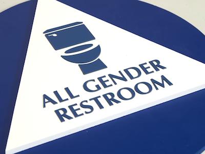 Watch Gender Neutral Bathroom Signs Focus On What S Inside The Toilet Gender Neutral Bathroom Signs Gender Neutral Bathroom Bathroom Signs