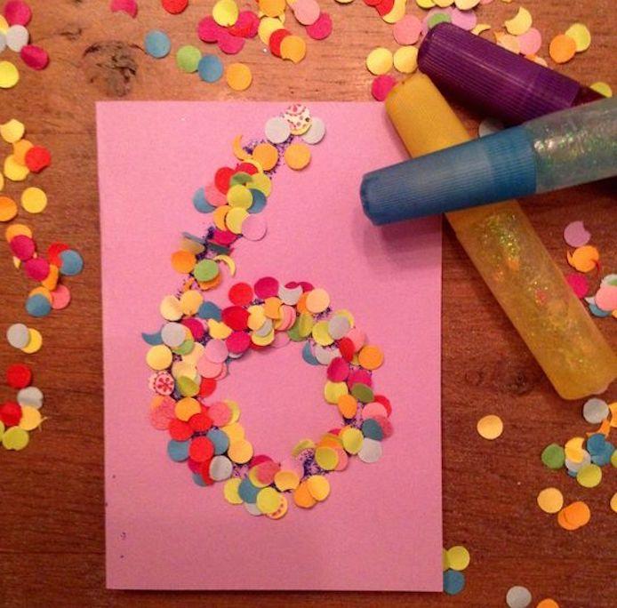 Открытка с днем рождения девочки 9 лет своими руками
