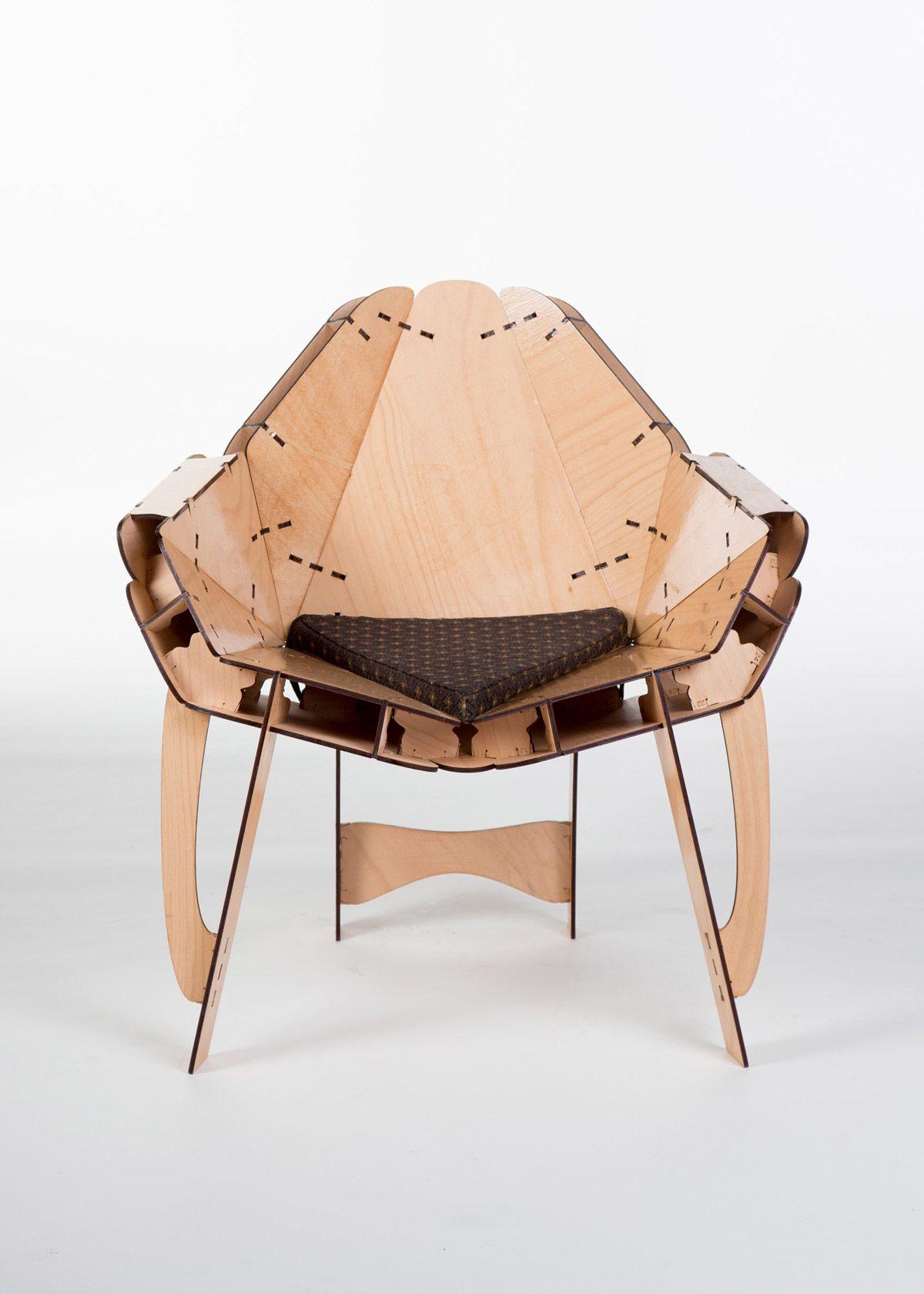 U201cFreeformu201d 3D Puzzle Furniture Design By Portik Adorján