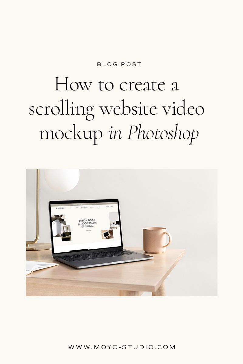 How To Create A Scrolling Website Mockup Moyo Studio In 2021 Website Mockup Latest Website Designs Mockup