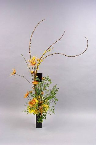 Ikebana Sogetsu style | Founded in the 1980s,