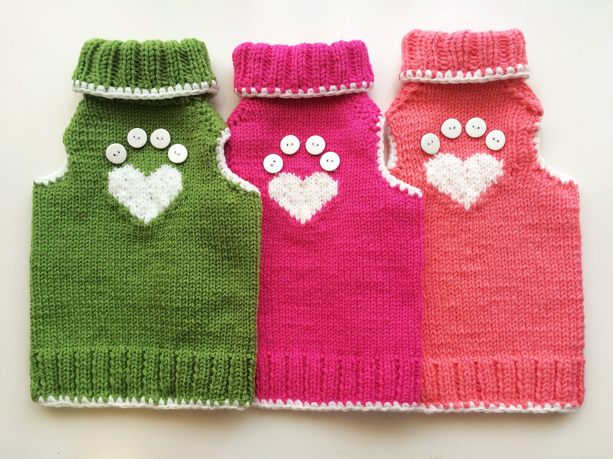 Lovely cat sweaters,Heartpaw pattern jumper for cats,My Valentine ...