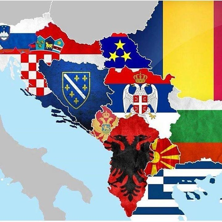 Albania Spirit Of Ballkans History Albania Coat Of Arms