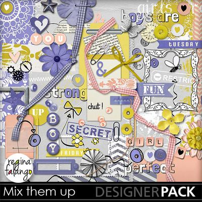 Kit Mix them up with by Regina Falango