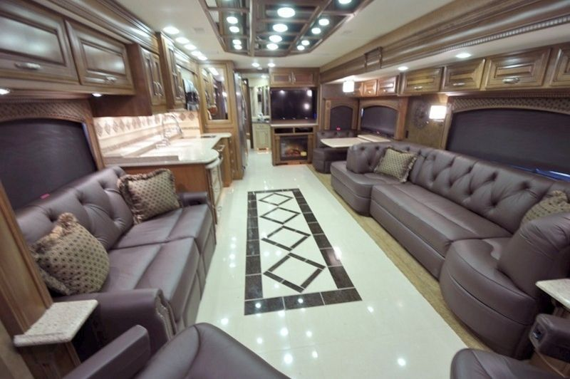 RV Bus Interior