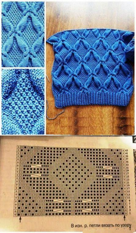 Image Title Knitting Patterns Pinterest Knitting Stitches