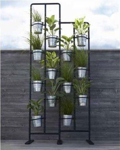 Room Divider Plant Stand Metal In Outdoor Garden Decor