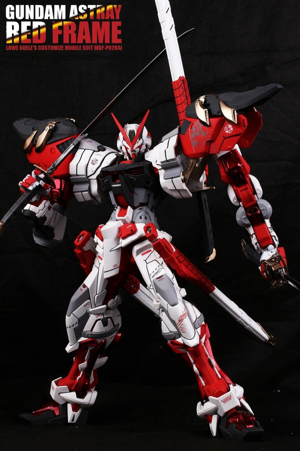 GUNDAM GUY: MG 1/100 Gundam Astray Red Frame 'Power Red Resin