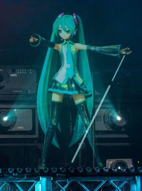 Hatsune Miku Live Hologram Miku Hatsune Miku Hatsune Miku Project Diva