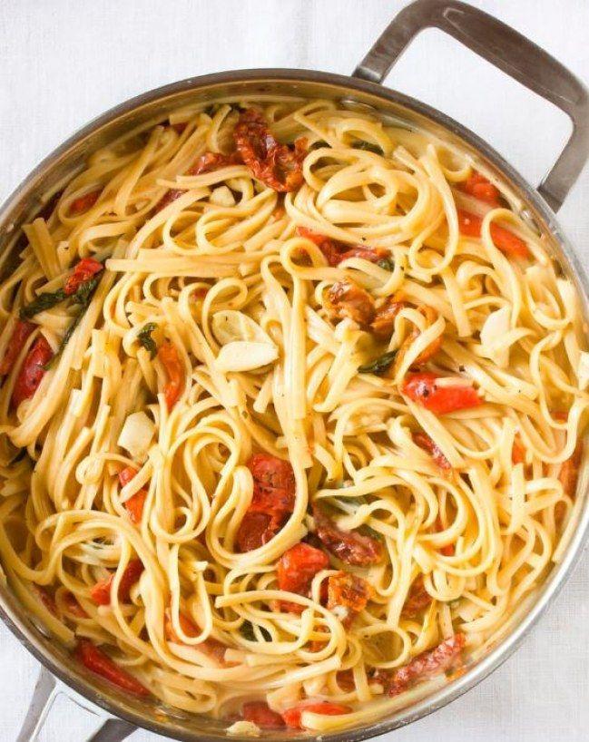 Einfacher geht\'s nicht: 3 One Pot Pasta Rezepte für die schnelle ...