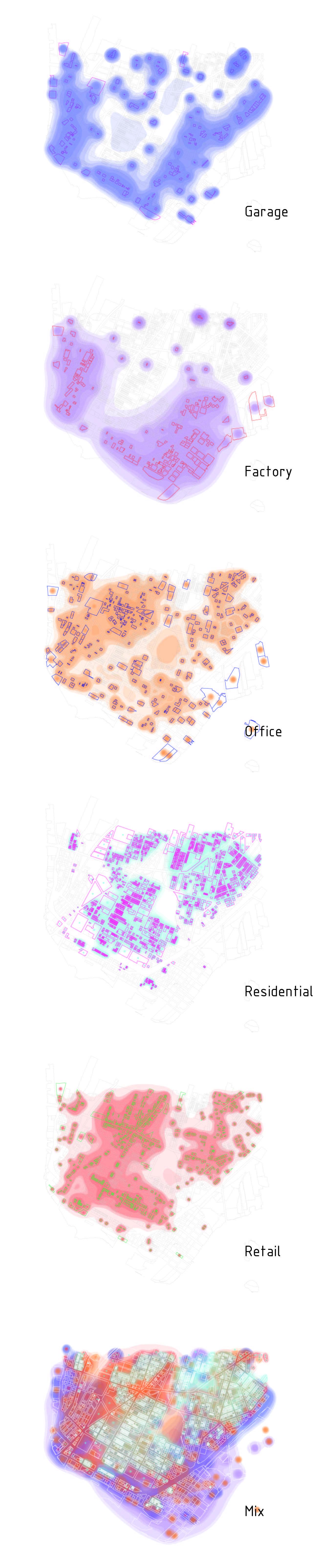 Land Use Analysis Of South Bronx    2016    Huai Kuan Chung