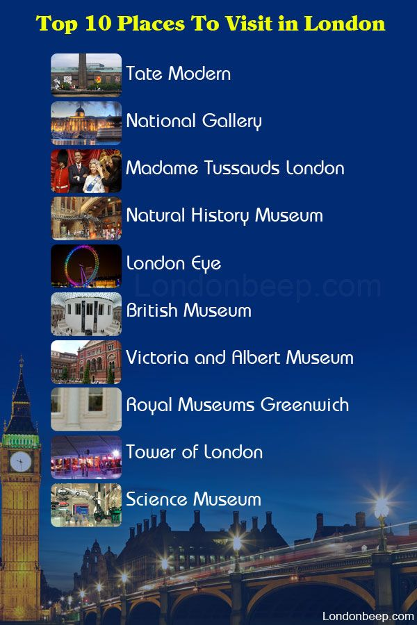 Visiting london for the first time top 10 places to for Top 10 places to travel to