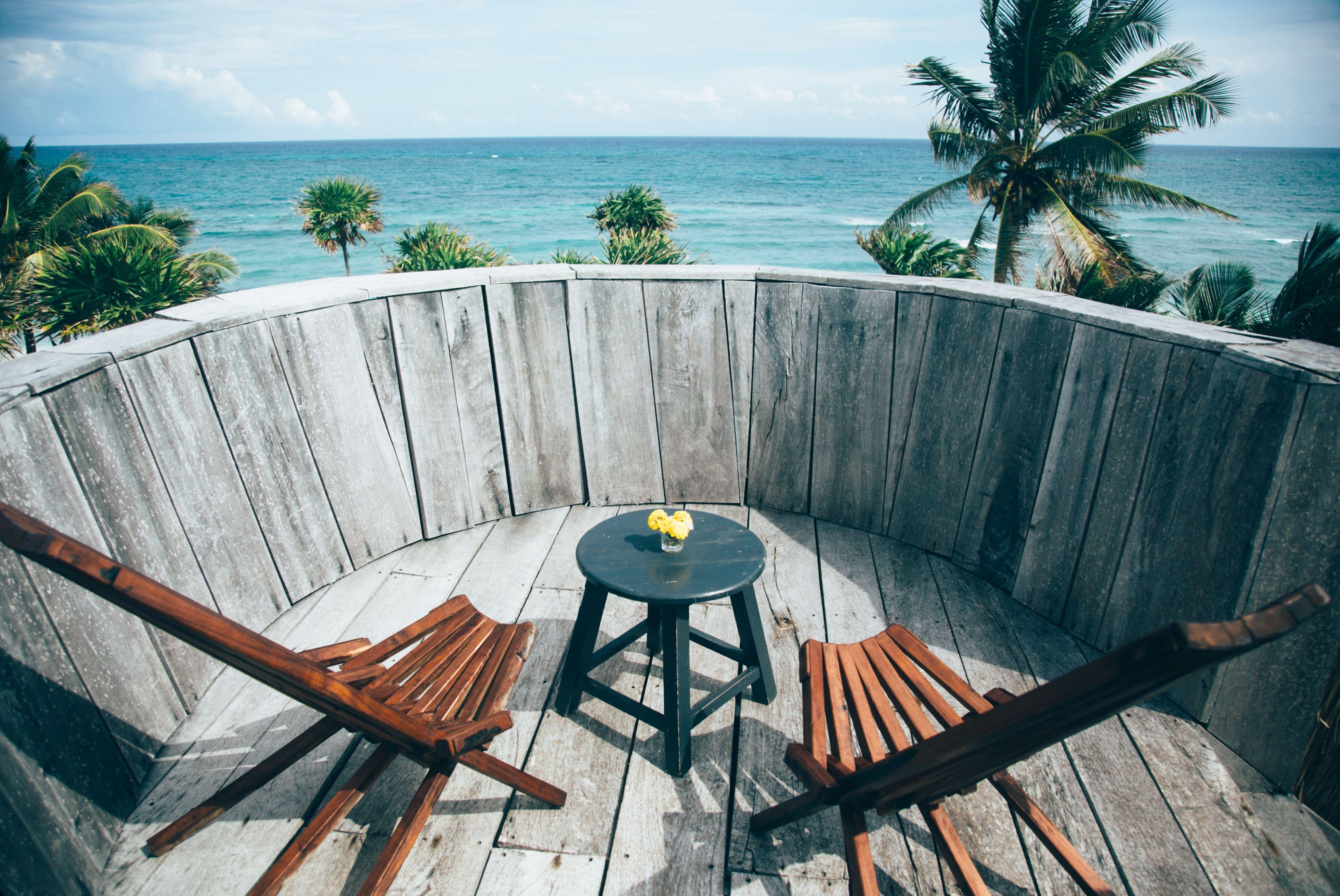 Roof top New Casita Papaya Playa, Tulum Mexico | Beach Life ...