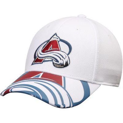 2ae5380fd50 Colorado Avalanche Reebok Face Off Draft Flex Hat - White